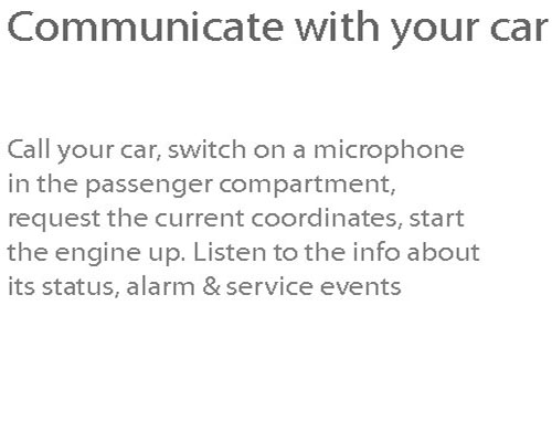 Communicate with your Car 1