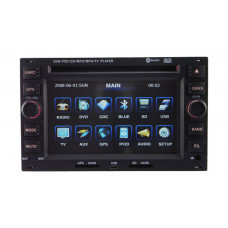 Car DVD Player for Volkswagen PASSAT BORA POLO GOLF with GPS radio bluetooth 1808