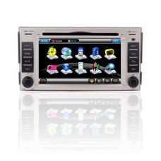 Car DVD player for Hyundai new Santa Fe with GPS Radio bluetooth TV 8900