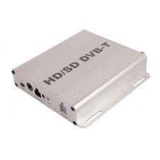 HD DVB-T MPEG4 (H.264)Digital TV tuner with HDMI for Car 240 kmh. Автомобилен телевизионен тунер със USB и Audio Video входове и изходи Вход за камера за заден ход.