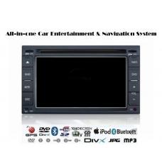2DIN Car DVD плейър с 6,2