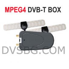 HD DVB-T MPEG4 H.264 Digital TV tuner with HDMI for Car  Автомобилен телевизионен тунер със USB и Audio Video входове и изходи модел: 906