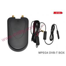 HD DVB-T MPEG4 H.264 Digital TV tuner with HDMI for Car media S100 - S150 Автомобилен телевизионен тунер със USB и Audio Video входове и изходи за S100 Mодел:1808