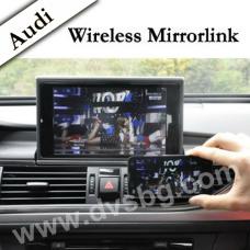Audi Multimedia Car System A3-A4-A5-A6-A7-A8-Q5 series Смартфон Wireless Mirror Link Miracast DNLA интерфейс