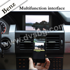 Mercedes-Benz Multimedia System A-B-C-E-ML-GL-GLK Class Смартфон Car Wireless Mirror Link Miraciast DNLA -видео-аудио интерфейс