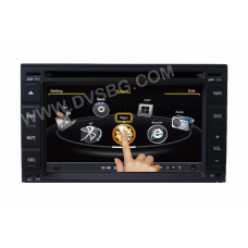 Мултимедиа 2Din Car GPS DVD Player with LCD HD Monitor built in GPS Navigation DVD WiFi 3G Bluetooth - Parrot system work with Android systems DVB-T Ipod RDS Model:001