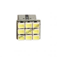 Габаритни диоди светодиодна матрица 9 LED Pure White interior Car W5W Light Bulb 194168921