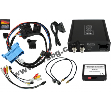 DVB-T Тунер за фабрично вграждане dvbLOGiC2 BMW Professional 7series E65 E66 с фабричен TV-tuner AFS port USB Rear Camera AV-input DT1-Е65-TV