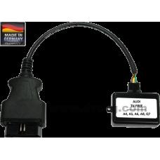 Видео в движение интерфейс Audi Video in motion A5-B8 A6-4F A6-4FH-allroad A8-4E Q7-4L MMI2G-OBD TF-MMI2G