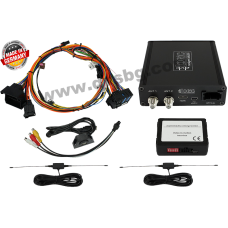 Автомобилен телевизионен тунер Mercedes Benz Comand APS NTG A-B-CLA-CLS-E-G-GL-ML-SL-SLK-class DVB-T tuner AV USB AFS dvbLOGiC2 MB NTG4-212, NTG4.5 USB video interface NTG4-212, NTG4.5 DT2-NTG45