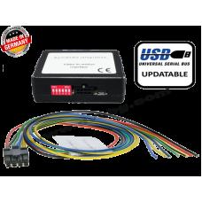 Видео в движение - универсален Universal video-in-motion high-speed CAN version update-port TF-U500