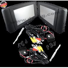 Touchscreen Монитори с USB SD AV вход-изход за фабрично вграждане в седалките за BMW F10 - F01 2 vehicle-spec. consoles 9 inch monitor BMW 1-3-5-7 GT series HRS-F10