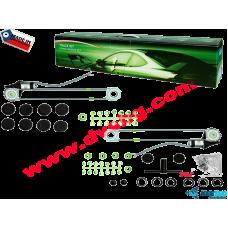 Комплект универсални машинки за елeктрически стъкла-Електрически стъклоподемници за 2 прозореца TRACK KIT