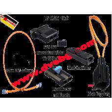 Оптични кабели с букси и преходници комплект за диагностика CAN Most fault-diagnostics-set TS-DIAG