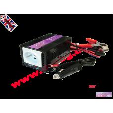 Преобразувател Инвертор за кола от 12V на 220V 300W DC към AC 12V-220V Converter DC to AC - input DC 12V output AC 230V 300W 12V-220V SP300-12V