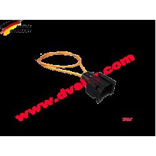 Оптичен кабел с букса - Тапа за оптика Fiber optic bridge female Optical Loop MOS-BRIDGE-F2