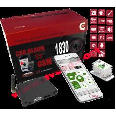 Алармена система за автомобил с вграден GPS, GSM, TEC, RFID, App и имобилайзер Can bus система C-1830