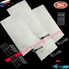 Карбонова подгряваща отопляема седалката система кит Carbon fiber seat heater KIT CSH 4