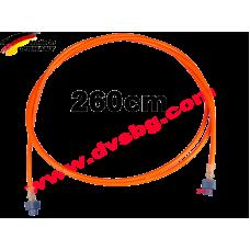 Оптичен кабел 2.6 м. Fiber optic cable MOS-260